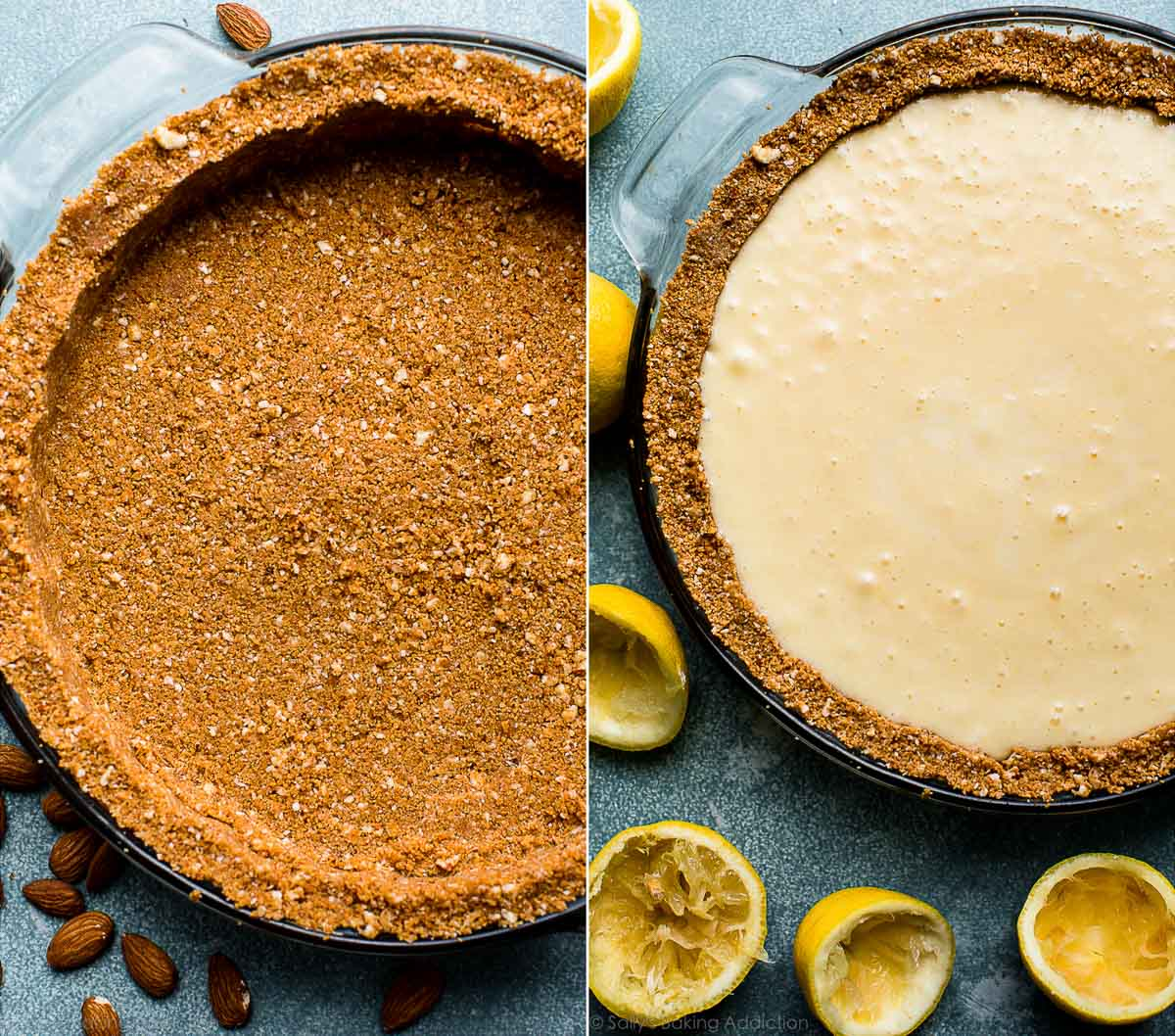 How to make creamy lemon pie on sallysbakingaddiction.com