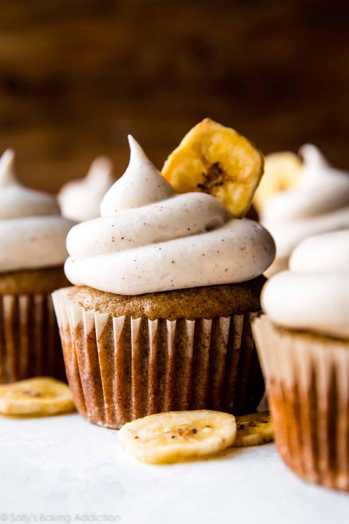 Банановый капкейк рецепт