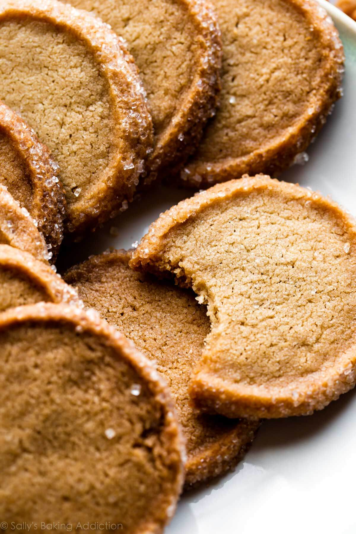 Brown Sugar Shortbread - Sallys Baking Addiction
