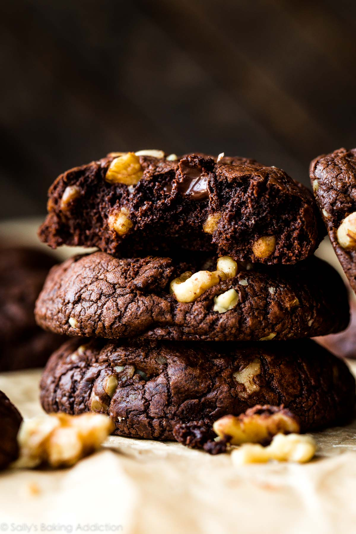 Homemade Brownies With Walnuts And Chocolate Chips – Thin Blog