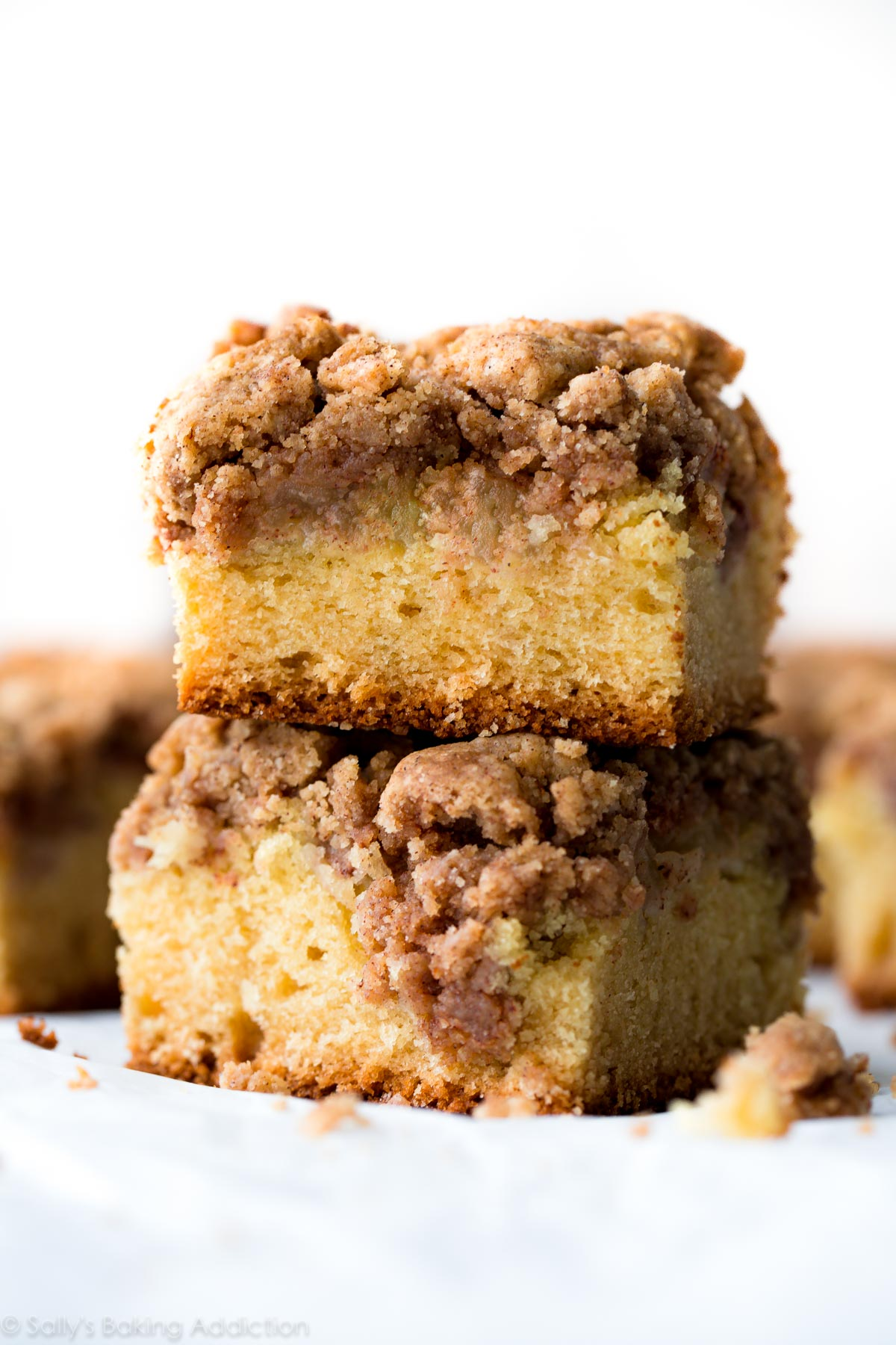 Crumb topping for crumb cake recipe