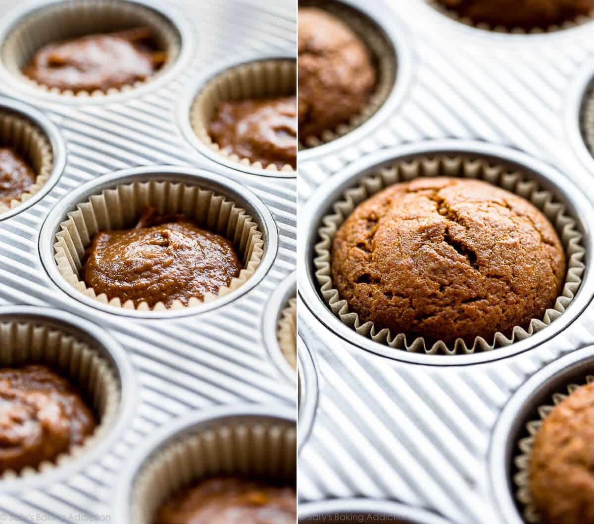 How to make pumpkin cupcakes on sallysbakingaddiction.com
