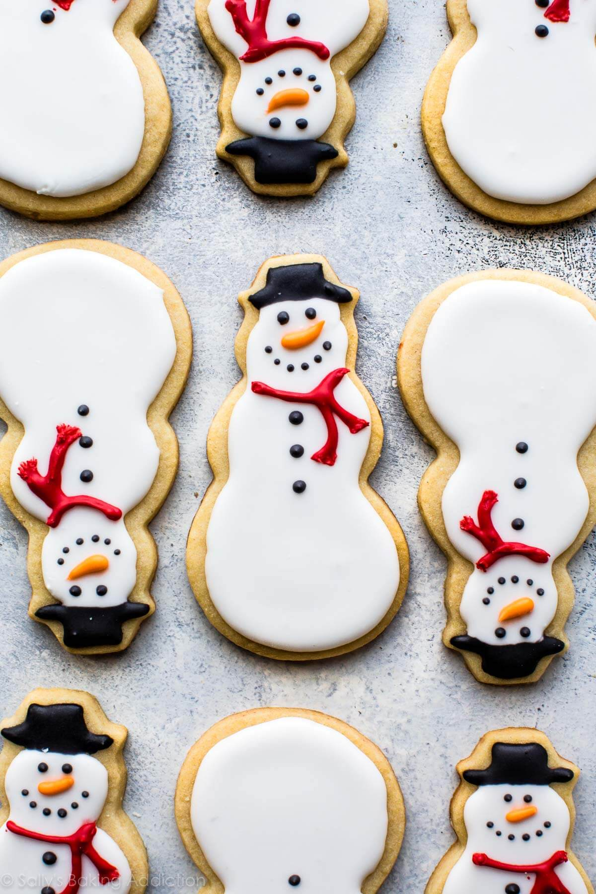 Watch Snowflake Biscuits Recipe video