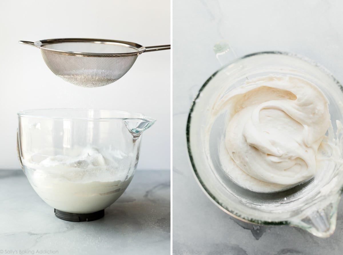 How to make angel food cupcakes on sallysbakingaddiction.com