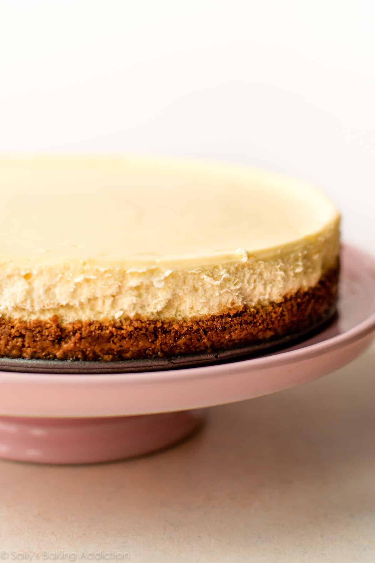Classic Cheesecake Recipe | Sally's Baking Addiction