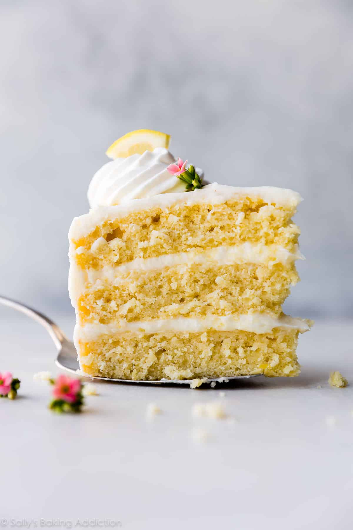 Lemon Layer Cake With Lemon Cream Cheese Buttercream