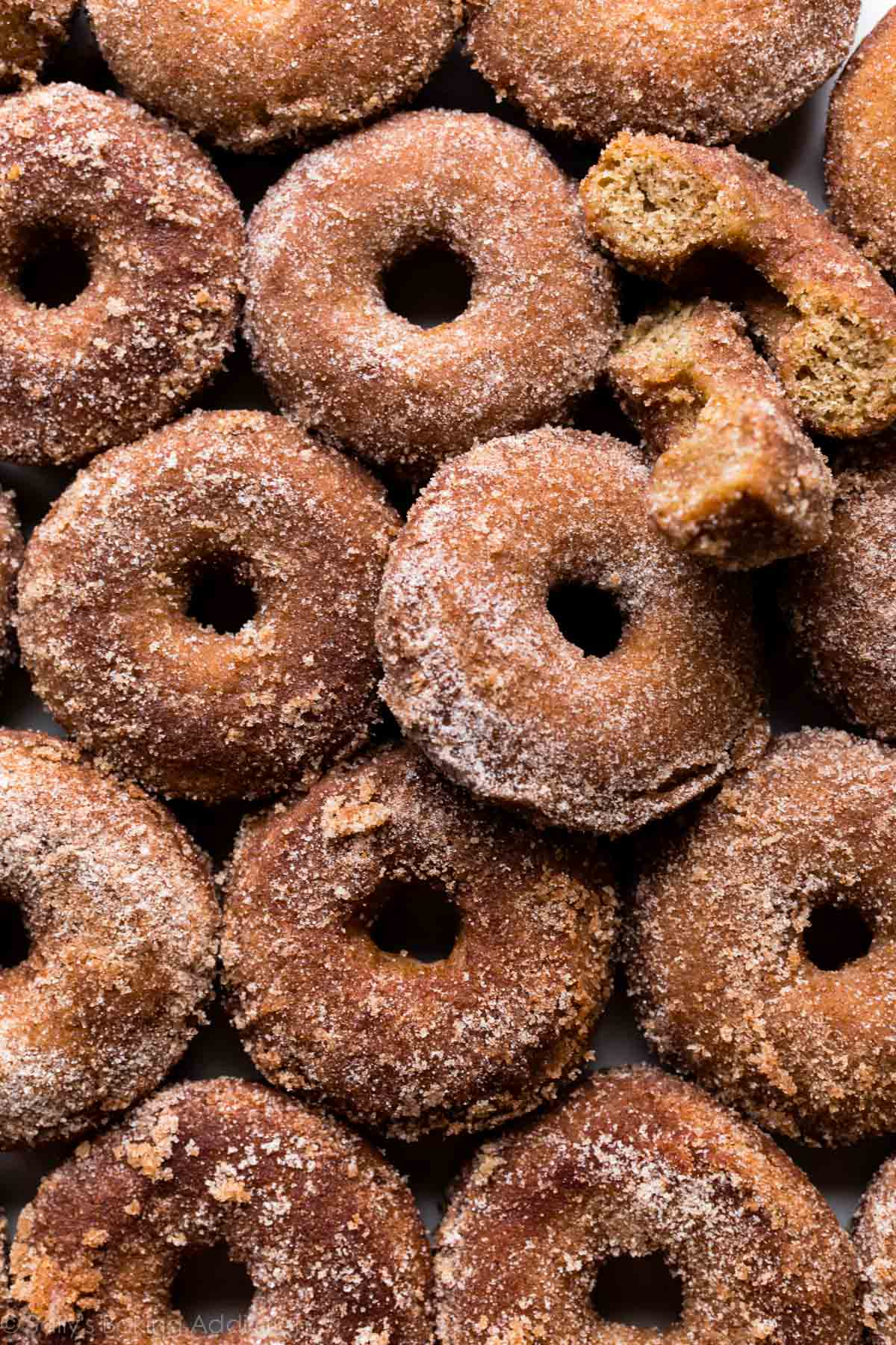 Baked Apple Cider Donuts Sally S Baking Addiction