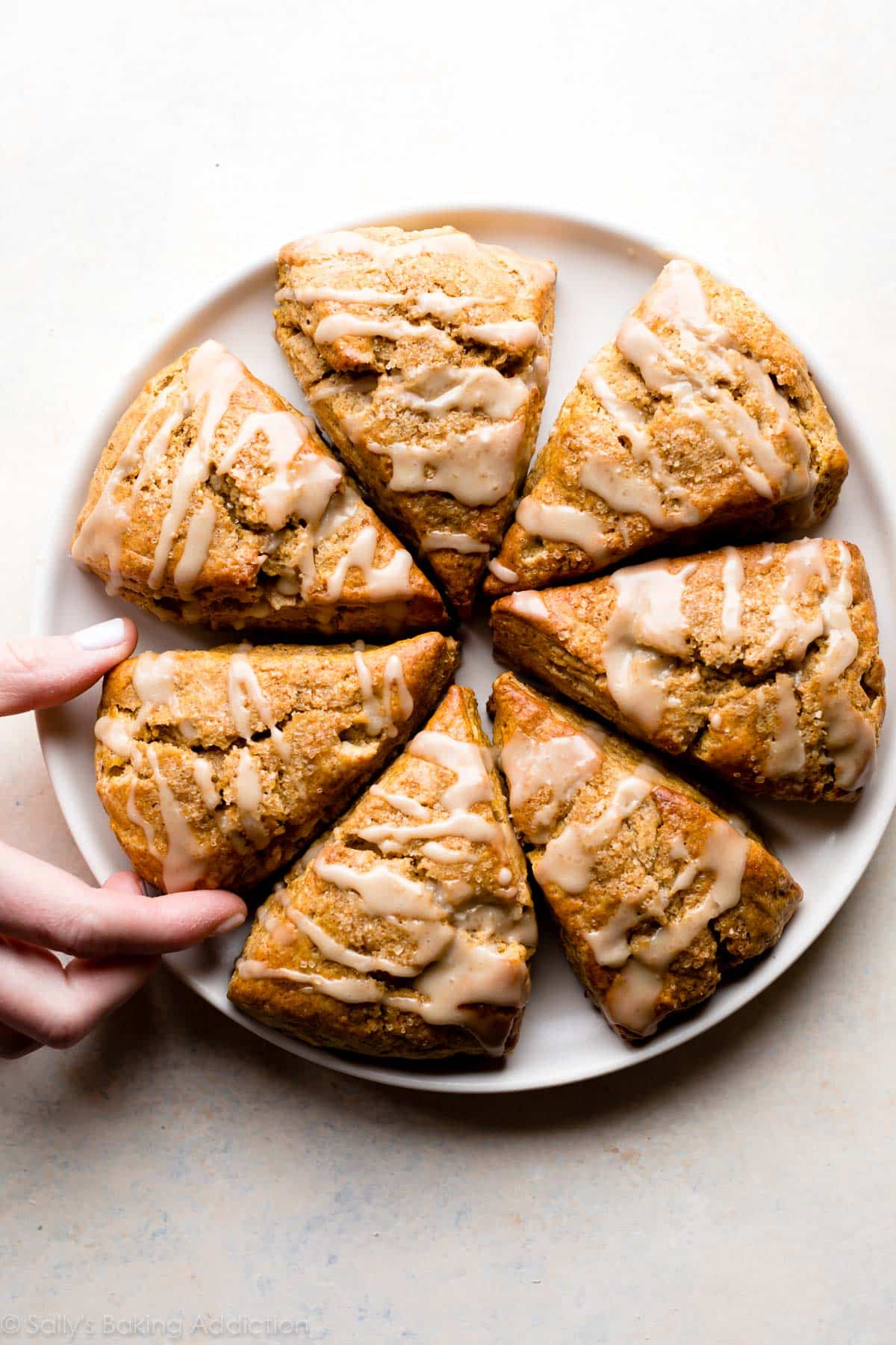 Classic Pumpkin Scones Sally S Baking Addiction