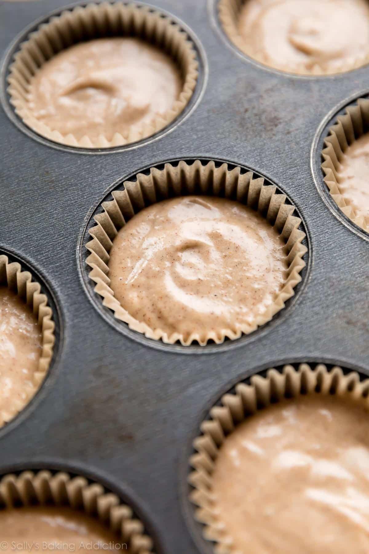 How to make chai latte cupcakes on sallysbakingaddiction.com