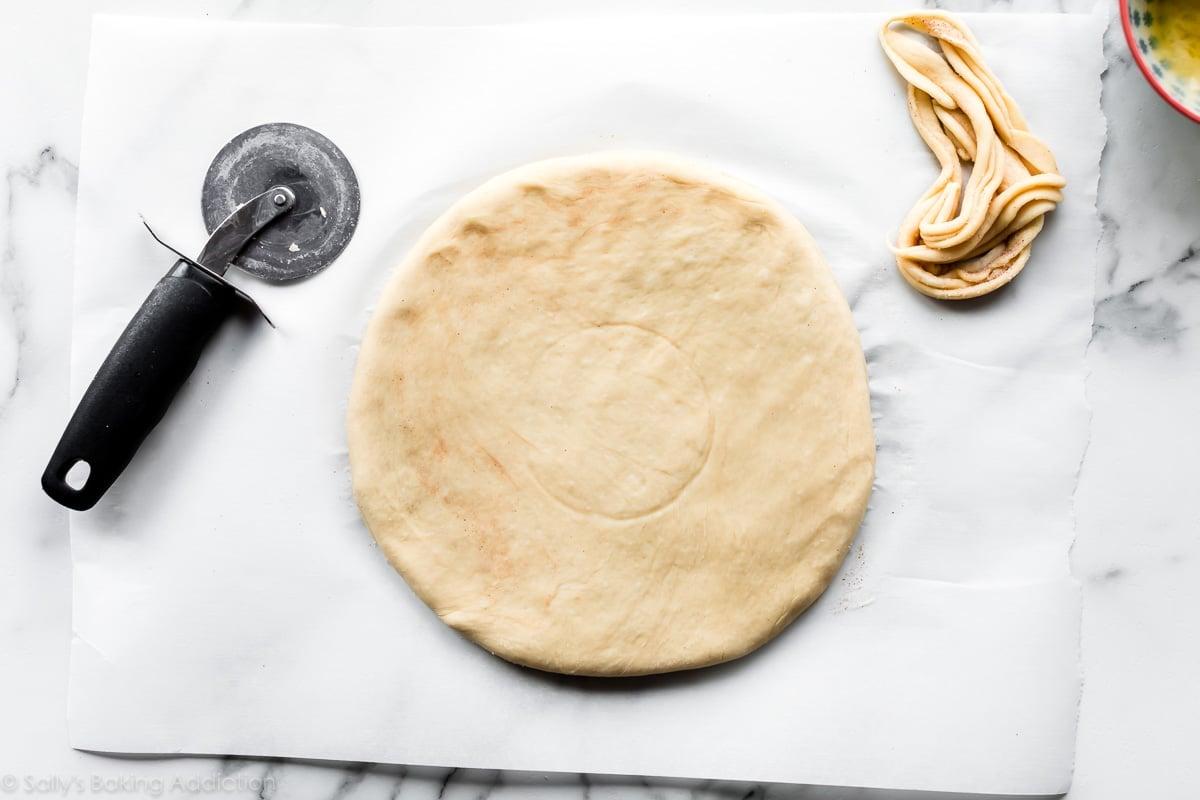 Star bread dough