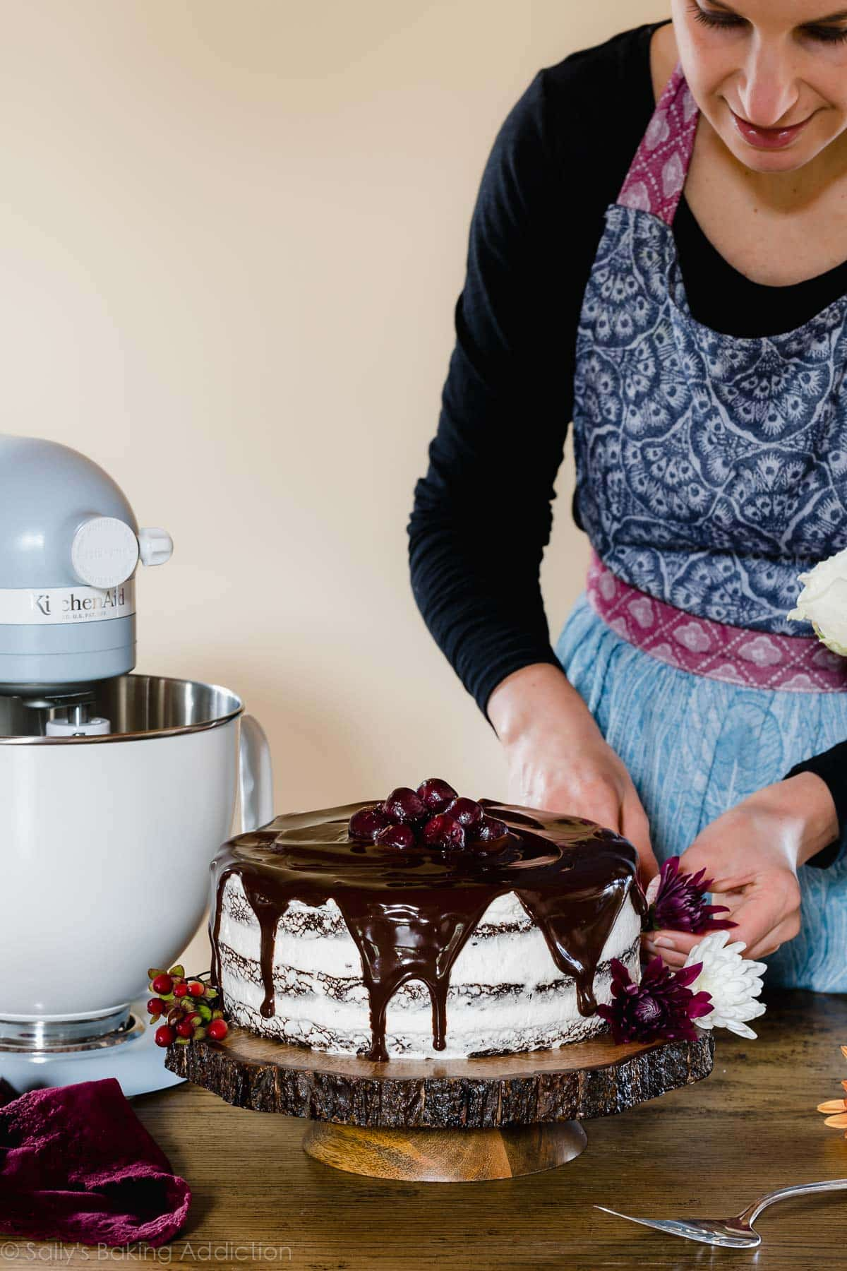 How to decorate Black Forest Cake