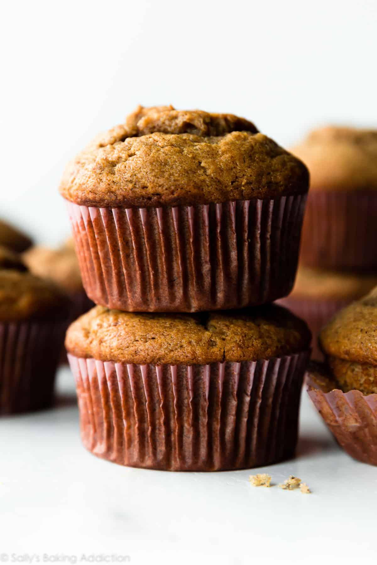 Quick Easy Banana Muffins Sallys Baking Addiction