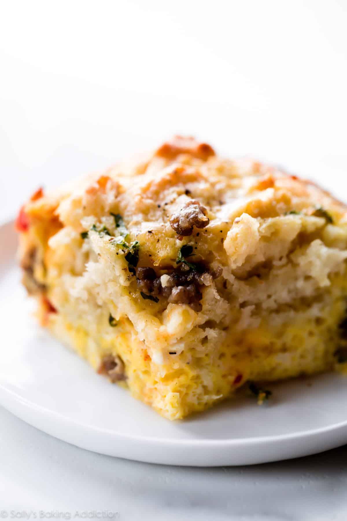 biscuit breakfast casserole sally s baking addiction